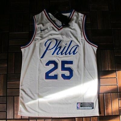 NBA2018全明星賽球衣 費城76人隊 simmons西蒙斯 Curry Durant 湯普森 浪花兄弟 戴維斯 鵜鶘
