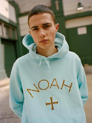 【日貨代購CITY】2020AW NOAH + NY Cheetah Core Logo Hoodie 帽T 現貨