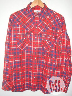 特價「NSS』NONNATIVE RANCHER SHIRT COTTON NEL TARTAN CHECK 格紋襯衫