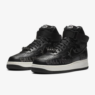 [INMS] Nike Air Force 1 High Toll Free 1-800 男鞋 CU1414-001