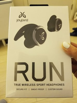 jaybird Run wireless earphones 耳機 new 新