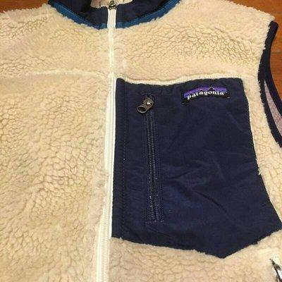 [二手,免運]Patagonia Mens Classic Retro-X  Fleece Vest XS 藍色