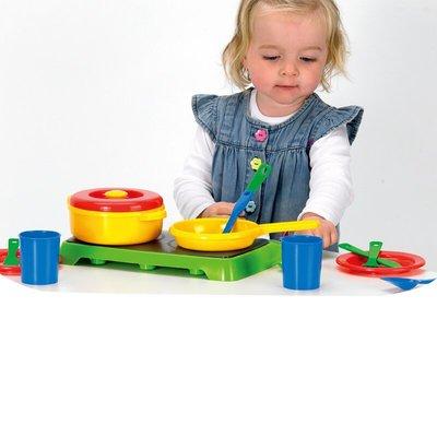美國dantoy 廚藝烹飪 多彩的家家酒道具,適合親子或兩位孩子同樂◎童心玩具2館◎