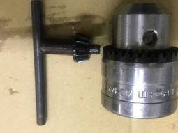 ROHM 德國製 衝擊式起子機轉電鑽 四分夾頭 1/2 -20UNF 三爪夾頭整組(含扳手)
