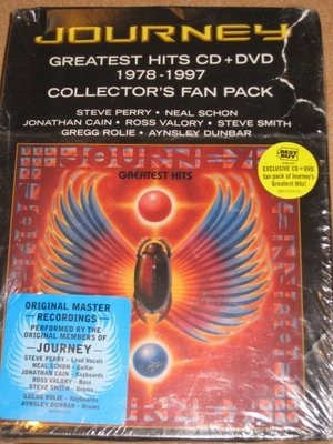 正版CD+DVD《旅行者合唱團》曠世精選 1978-1997/Journey Greatest Hits CD+DVD