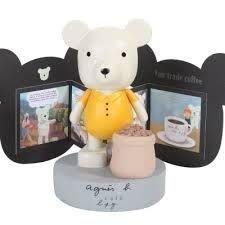 ☆汪將☆正版 agnes b.Cafe b. Lapin 兔子 L'OURS 熊 手工木質公仔 限量盒裝 單賣10號