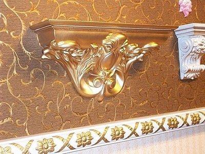 歐洲宮廷藝術精品/文藝復興 維多利亞 巴洛克 立體浮雕掛式園藝花檯/鏡台/壁檯 一個WS00030-0@$1380