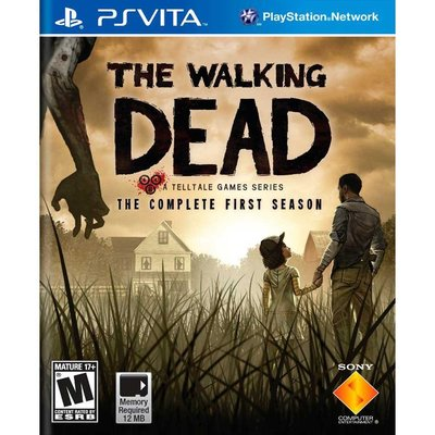 (現貨全新外封膜破損)PSV 陰屍路(行屍走肉) 英文美版(PS VITA The Walking Dead)