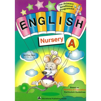 Pri-Primary Readiness Programme-English A(Nur.)美語 文法讀本 故事書讀物