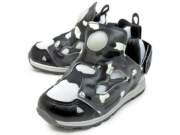 BAPE x MITA SNEAKERS x REEBOK VERSA PUMP FURY 小童鞋 幼童鞋 夜光迷彩