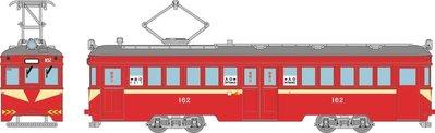 [玩具共和國] TOMYTEC 316411 阪堺電車モ161形 162号車(筑鉄赤電カラー)