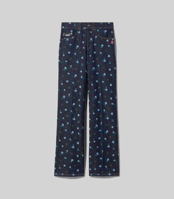 the flared jean marc jacobs 牛仔直筒褲/28.義大利製