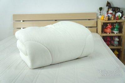 【四季戀寢具】目前是粉橘色.台灣製造.雙人6*7呎人工蠶絲被.雙人棉被