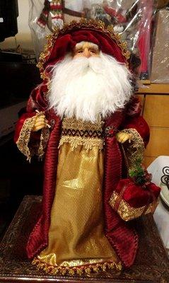 聖誕節老公公布偶擺飾:聖誕節 老公公 布偶 人偶 擺飾 居家 家飾 設計 禮品 櫥窗 展示 收藏