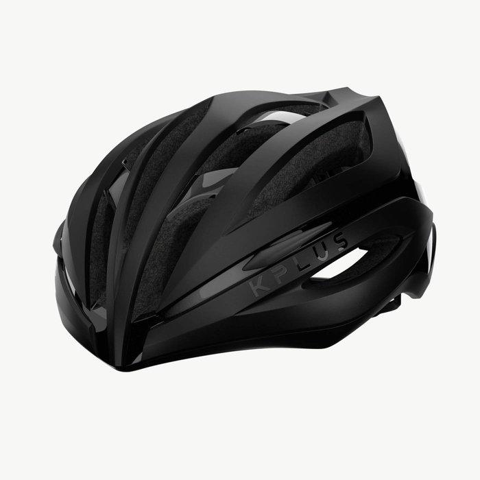【三鐵共購】【KPLUS】SUREVO S系列一般色公路競速單車安全帽-黑