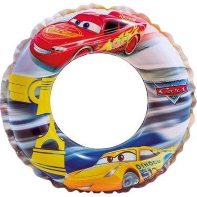 美國Intex * 迪士尼CARS汽車總動員充氣游泳圈/ 泳圈/ 救生圈/ 浮力圈/ 閃電麥坤(52cm)適合3~6歲 台中市