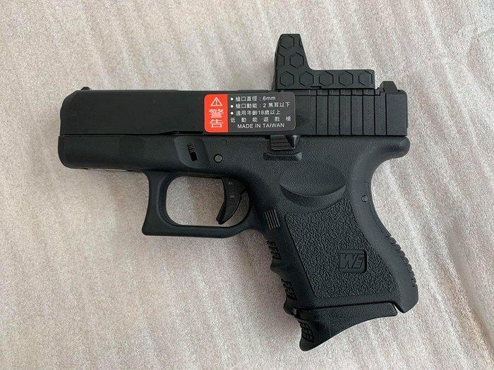 JHS((金和勝 槍店))免運費 WE 黑色 G27 Gen3 RMR版 瓦斯手槍 4820