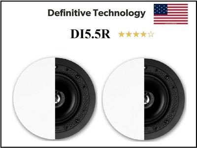 台北 [ 宥笙音響 ] 美國 Definitive DI5.5R 圓形天花板崁入式喇叭 (1對)