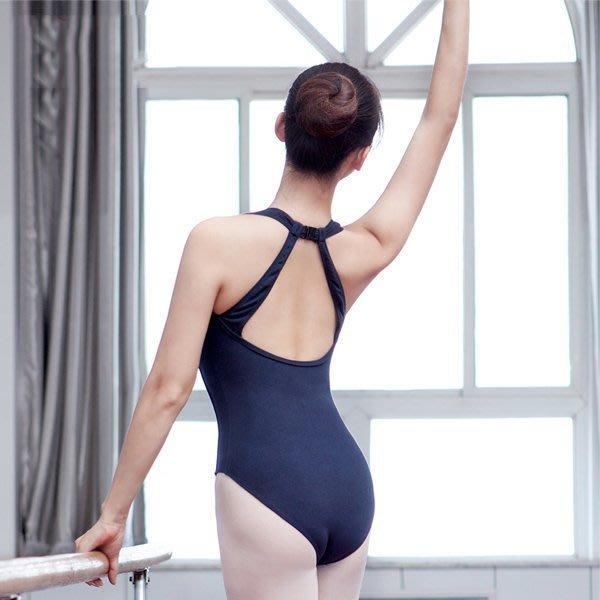 5Cgo【鴿樓】會員有優惠 2525235680 芭蕾舞連體服 體操服女成人形體服舞蹈服芭蕾舞練功服形體課連體服