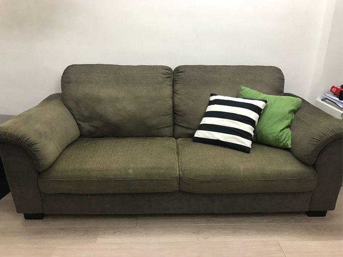 Ikea 三人沙發 tidafors 灰褐色