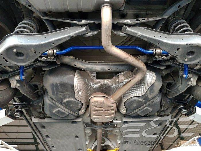 阿宏改裝部品 E.SPRING VW SCIROCCO 22MM 實心 2段式軟硬可調 後下防傾桿 防傾桿