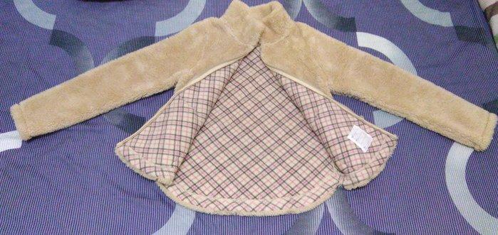 二手◎日本UNI QLO女童冬款日版輕質/保暖針織毛毛造型外套.新北市泰山區明志路一段97號可自取◎面交煩請準時,謝謝~