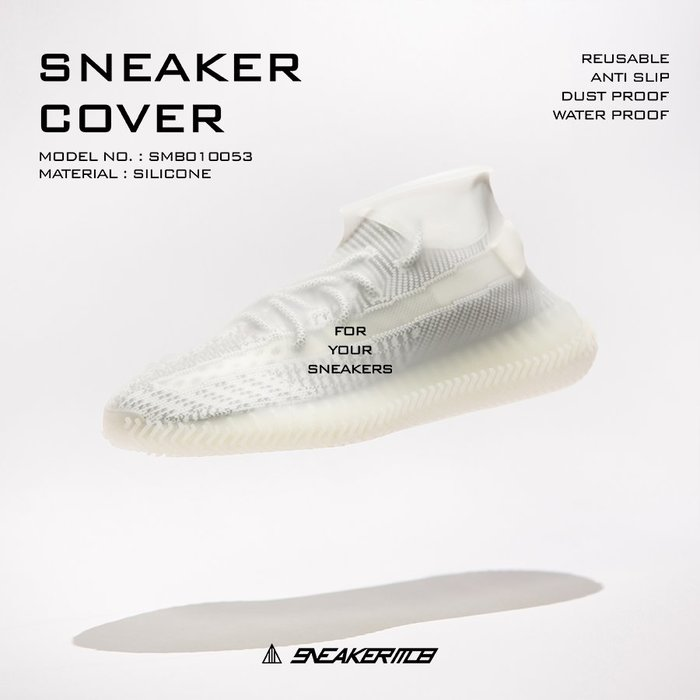 【高冠國際】SNEAKER MOB SNEAKER COVER 防水鞋套/ 雨鞋套 止滑 雨鞋  防水 彈性
