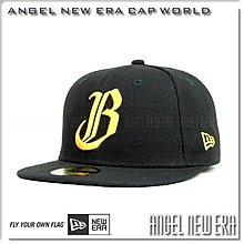 【ANGEL NEW ERA】NEW ERA x Brothers 中華職棒 中信兄弟 黑/黃 59FIFTY 球員帽