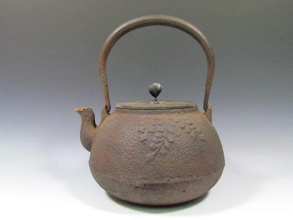 可以堂普洱茶苑 日本 茶道具 龍文堂造 寶珠壺 京鐵壺正老件