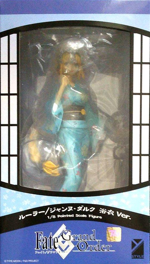 日本正版 FREEing Fate/Grand Order FGO 貞德 浴衣 1/8 模型 公仔 日本代購