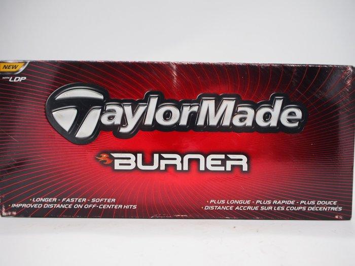 【月界二手書店】TaylorMade - Burner 高爾夫球1盒_內含12顆 〖體育〗ABJ
