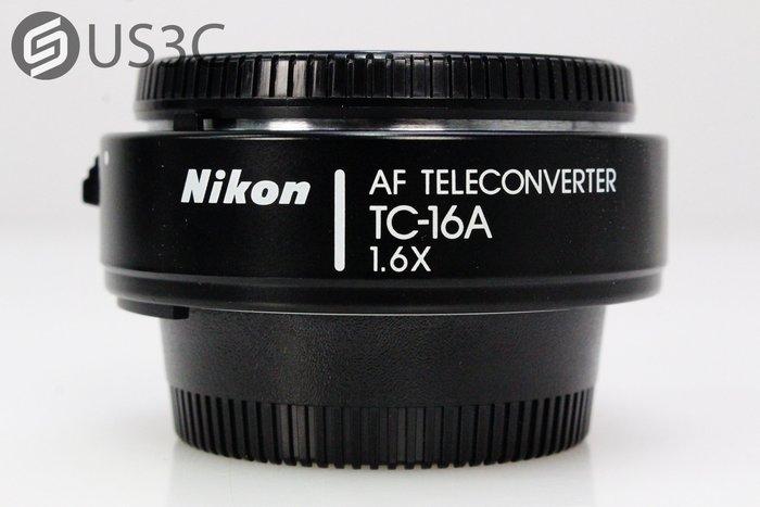 【US3C-小南門店】尼康 Nikon AF Teleconverter TC-16A 1.6x 1.6倍 增倍鏡 增距鏡