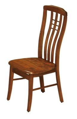 【南洋風休閒傢俱】餐廳家具系列- 三條直桿柚木餐椅 用餐椅 (金621-1)