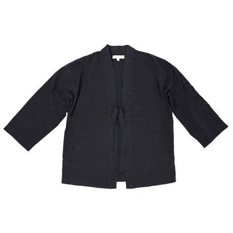 { POISON } SKATOPIA KIMONO SHIRT 微水洗扎實純棉 哥德品牌刺繡 日式和服罩衫