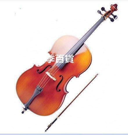 三季高品質手工道具裝飾攝影動感大提琴 物美價廉 棗紅亮光仿古大提琴檔次道具初學者大提琴普及大提琴❖457