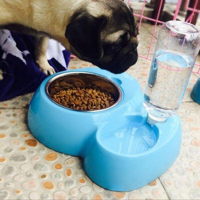 狗狗用品狗碗狗盆貓咪用品貓碗狗食盆雙碗自動飲水器泰迪寵物用品禮物