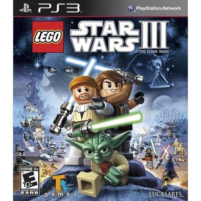 【二手遊戲】PS3 Lego Star Wars3 樂高星際大戰3: 複製人之戰 英文版【台中恐龍電玩】