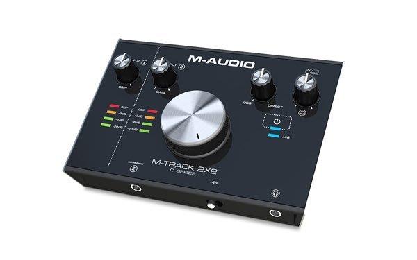 造韻樂器音響- JU-MUSIC - 全新 M-Track 2X2 USB 錄音介面 DAC 另有 RME Roland