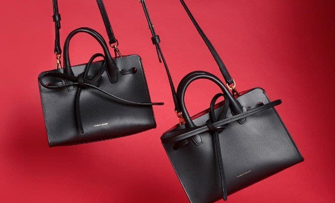 NETSHOP MANSUR GAVRIEL MINI MINI SUN LEATHER BAG 手提包 肩背包
