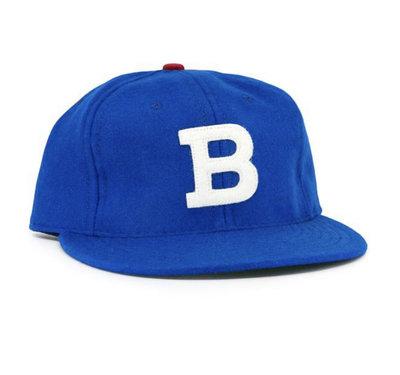 全新 現貨 Ebbets field flannels Barbudos vintage 復古 羊毛 老帽 棒球帽 調節
