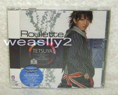 (彩虹樂團L Arc~en~Ciel) TETSUYA  Roulette(日版初回CD+DVD限定盤:三大特典) HEROMAN