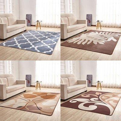 居家家 地毯沙發家用簡約床邊茶幾客廳房間臥室滿鋪可愛水洗現代北歐地毯