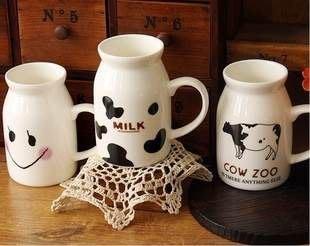韓國雜貨 zakka日系雜貨牛奶杯 早餐杯 簡約水杯 馬克杯 陶瓷杯 小號