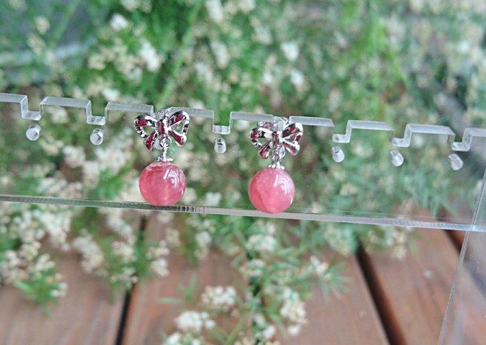 ~水晶花園~   愛的能量水晶 紅紋石(菱錳礦)