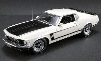 18-2165 Acme- 1969 Ford Mustang Boss 302 Pilot Car Limited Edition