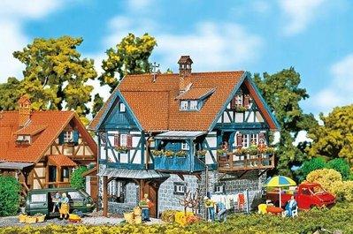 傑仲 (有發票) 博蘭 公司貨 FALLER 模型組 Rural half-timbered 130275 HO
