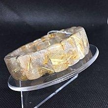 鈦晶手排 鈦晶手珠 重47.7克 寬16咪 手圍18.5 編號A62