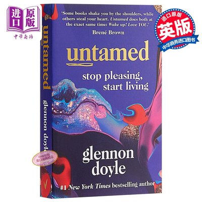 Untamed Stop pleasing start living 英文原版 未被馴服 停止取悅 開始生活 女性話題