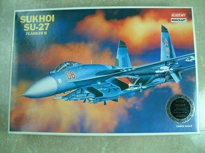 愛德美 SUKHOI SU-27 FLANKER 1/48 絕版收藏極新品 敬請把握