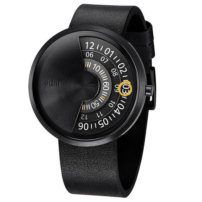 歐楓時計 ODM PALETTE 調色盤系列 黑DD171-01--原價5000